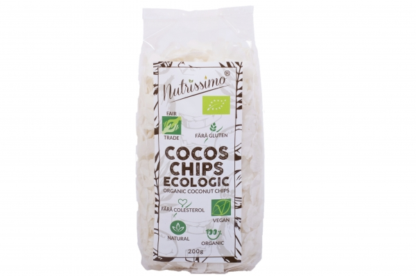Cocos chips raw Eco 200g 0