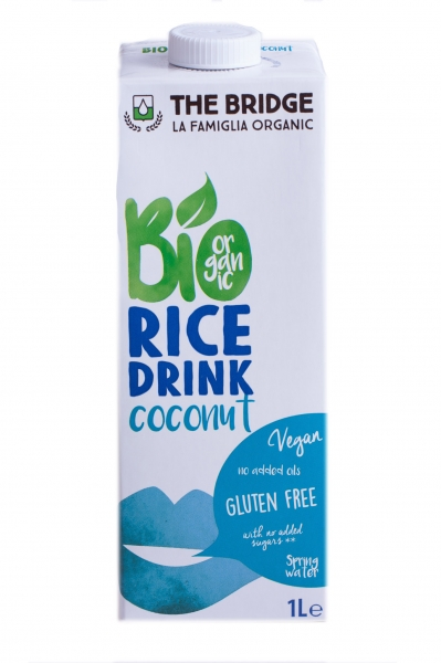 Lapte de orez cu cocos ECO 1 L 0