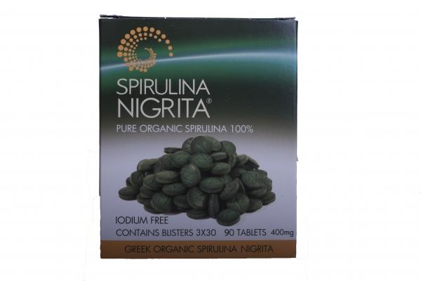 Spirulina comprimate ECO 36g - 90 tablete 0