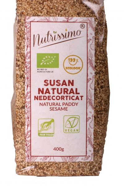 Susan natural nedecorticat 400g ECO 0