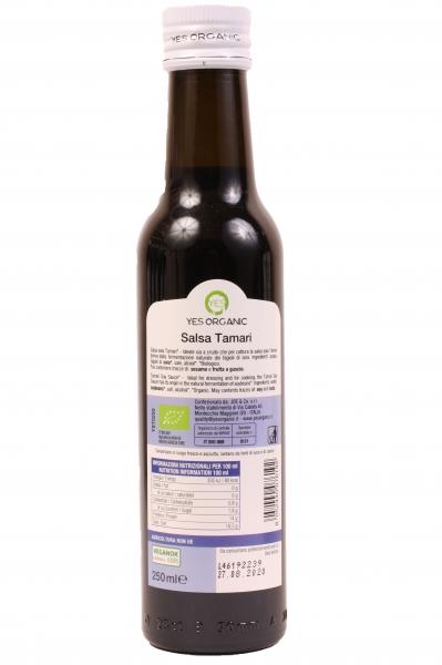 Sos de soia Tamari Eco 250ml - fără gluten - 1