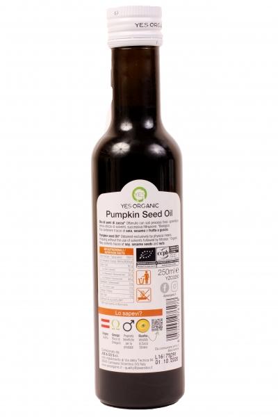 Ulei de dovleac ECO 250 ml - presat la rece 1